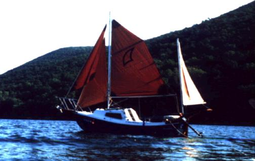 West Wight Potter Sail Rig Variants